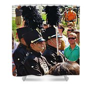 Marching Band Wind Shower Curtain