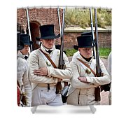 Marching To Battle Shower Curtain