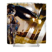 Marci Gras In Abstract Shower Curtain