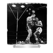 Marciano & Charles, 1954 Shower Curtain