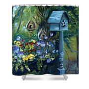 Marcia's Garden Shower Curtain