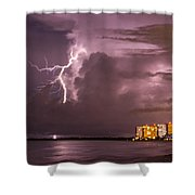 Marco Lightning Shower Curtain