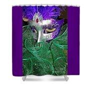 Mardi Gras Shower Curtain
