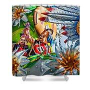 Mardi Gras - New Orleans 3 Shower Curtain