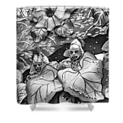 Mardi Gras - New Orleans 4 - Bw Shower Curtain