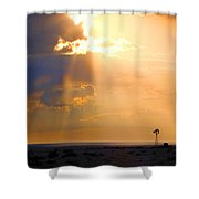 Marfa Windmill 1 Shower Curtain