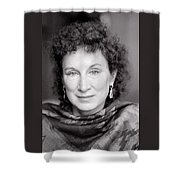 Margaret Atwood Shower Curtain