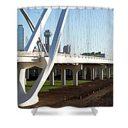 Margaret Mcdermott Bridge 122117 Shower Curtain