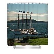 Margaret Todd - Bar Harbor Icon Shower Curtain