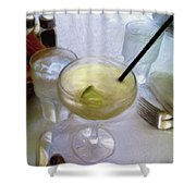 Margarita1 Shower Curtain