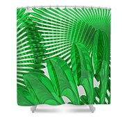 Margaritas Verdes Shower Curtain