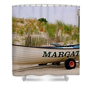 Margate Beach Shower Curtain