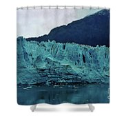 Margerie Glacier - Reflection Shower Curtain