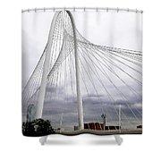 Marget Hunt Bridge Shower Curtain