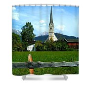 Maria Alm Shower Curtain