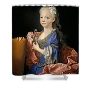 Maria Anna Victoria Of Bourbon. The Future Queen Of Portugal Shower Curtain