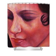 Maria Ave Shower Curtain