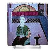 Maria Of Carrigafoyle Shower Curtain