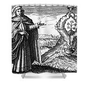 Maria The Jewess, First True Alchemist Shower Curtain