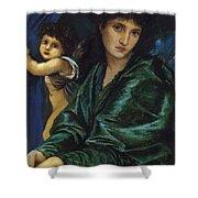 Maria Zambaco 1870 Shower Curtain
