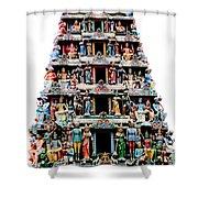 Mariamman Temple 3 Shower Curtain