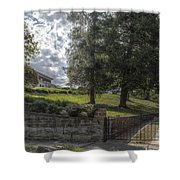 Marian Cliff Manor Shower Curtain