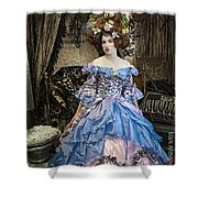 Marie Antoinette Shower Curtain