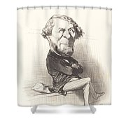 Marie Denis Larabit Shower Curtain