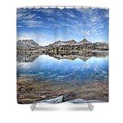 Marie Lake - John Muir Trail Shower Curtain