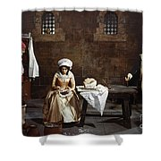 Marie Tussaud (1760-1850) Shower Curtain
