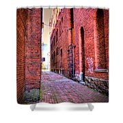 Marietta Alley Shower Curtain