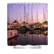 Marigot Marina Saint Martin Shower Curtain