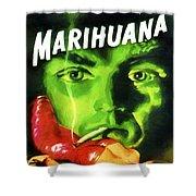 Marihuana Shower Curtain