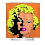 Marilyn-3 Shower Curtain
