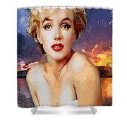Marilyn Hotty Totty Shower Curtain