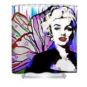 Marilyn In Love Shower Curtain