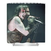 Marilyn Manson Shower Curtain