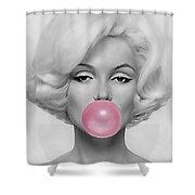 Marilyn Monroe Art Shower Curtain