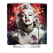 Marilyn Monroe   Colorful  Shower Curtain