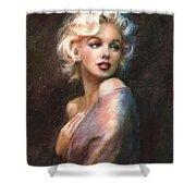 Marilyn Romantic Ww 1 Shower Curtain