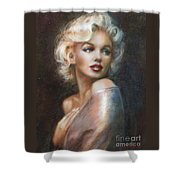 Marilyn Ww Soft Shower Curtain