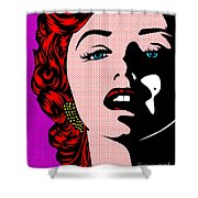 Marilyn02-2 Shower Curtain