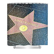 Marilyn's Star Shower Curtain
