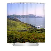 Marin Headlands 2 Shower Curtain