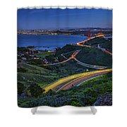 Marin Headlands Shower Curtain
