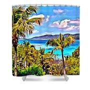 Marina Cay Shower Curtain