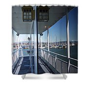 Marina Mirror Shower Curtain