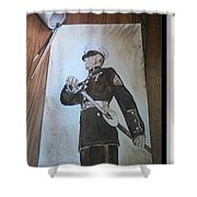 Marine Dress Shower Curtain