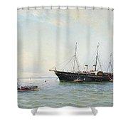 Marine Motives Shower Curtain