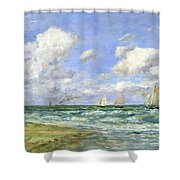 Marine Scene Shower Curtain